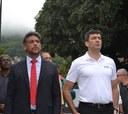 Alan Bombeiro e Chicão da Ilha são empossados como Prefeito e Vice-Prefeito pelo Legislativo Municipal