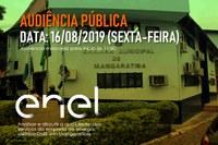 AUDIÊNCIA PÚBLICA - ENEL - 16 Agosto 2019