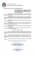 Decreto Legislativo afasta Prefeito Interino Vitor Tenório Santos
