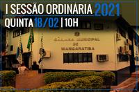 INÍCIO DAS SESSÕES ORDINÁRIAS (2021)