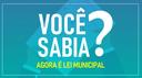 SÉRIE: VOCÊ SABIA? LEI 1034/2017